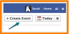 how to make a facebook event private for a surprise party