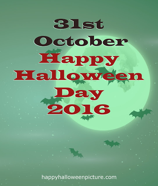 2016 Halloween Holiday Date