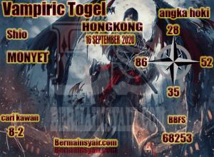 Kode syair Hongkong Rabu 16 September 2020 201
