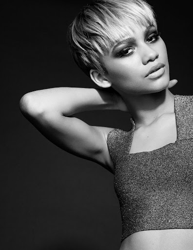 zendaya coleman kode magazine model photo shoot