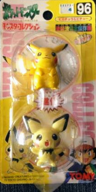 Pichu  figure Takara Tomy Monster Collection series