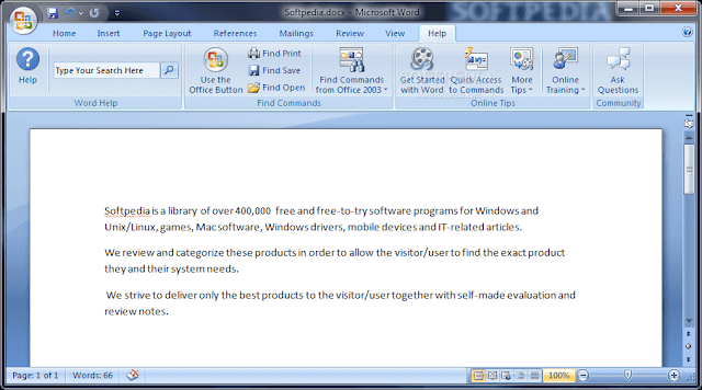 ms office word 2007 download for pc