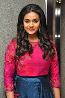 HeyAndhra Keerthy Suresh at Remo Success Meet HeyAndhra.com