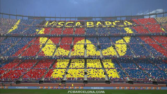 PES 2017 Mosaic Visca Barca By Bvstamild
