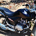 PM recupera moto furtada escondida em quintal de casa na ilha Grande de Santa Isabel