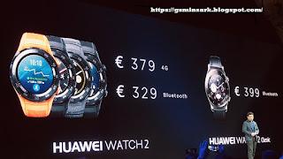 مواصفات و مميزات ساعة Huawei Watch 2