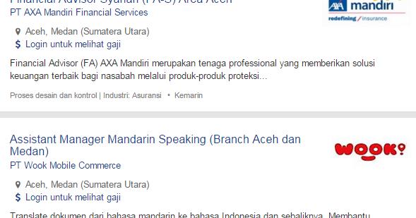 Bulan Ini – Lowongan Kerja Aceh Tamiang Terbaru 2017