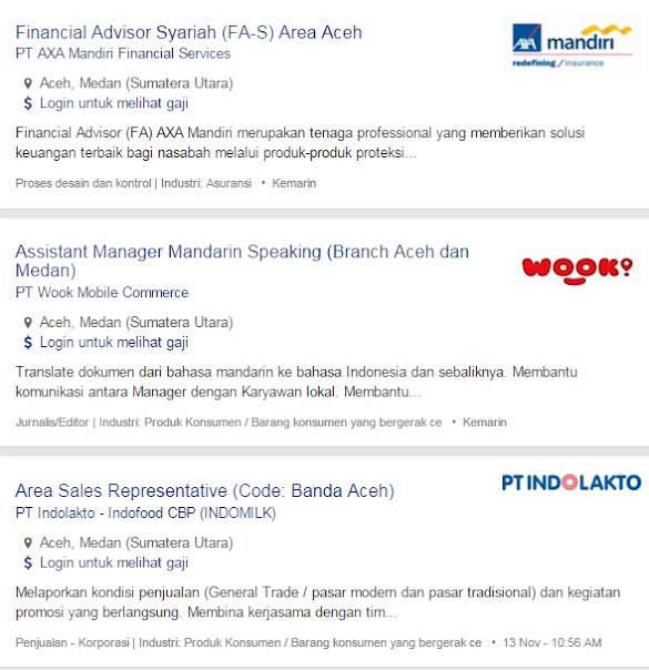 Lowongan Kerja Aceh Tamiang