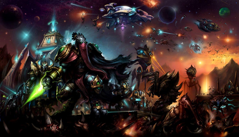 Starcraft 2 Protoss Video Games Wallpaper | One Wallpapers