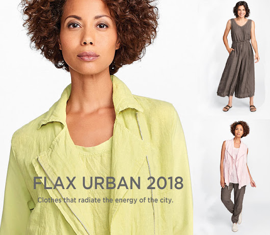 Tender Treasures - Gerry's Blog: New Flax Urban 2018 Coming Soon to Tender Treasures