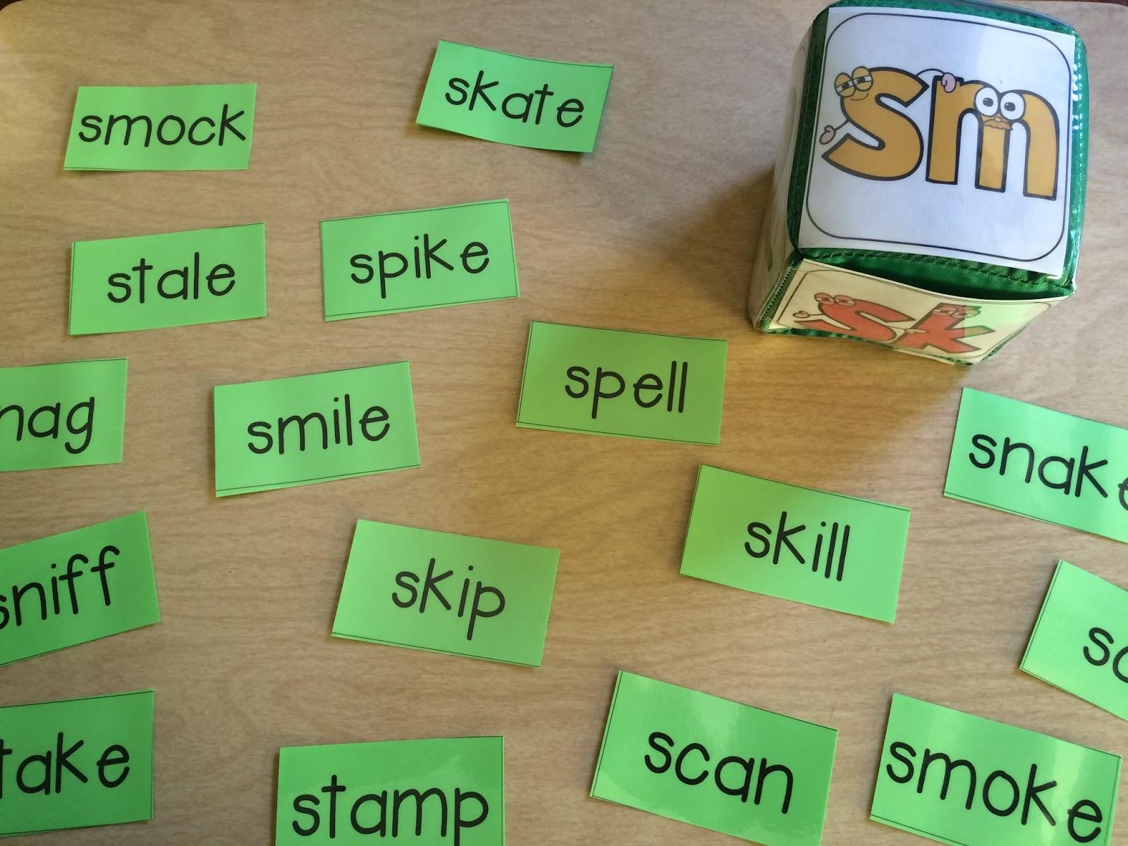 Beginning Consonant Blends