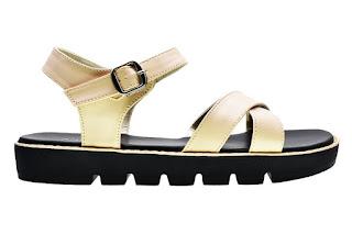 sandal flip flops cerelia faustine krem