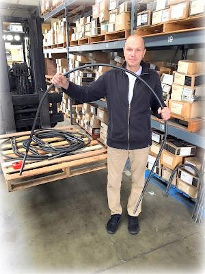 Custom Large Plain Steel U-Bolts - Round 3/4-10 Diameter In Variety Of Sizes