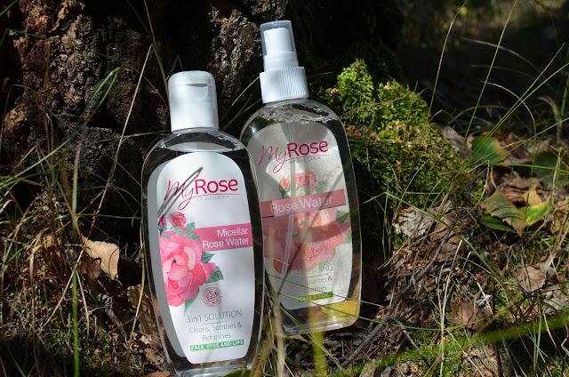 """My Rose of Bulgaria"" Micellar Rose water  Мицеллярная розовая вода и Rose Water розовая вода"