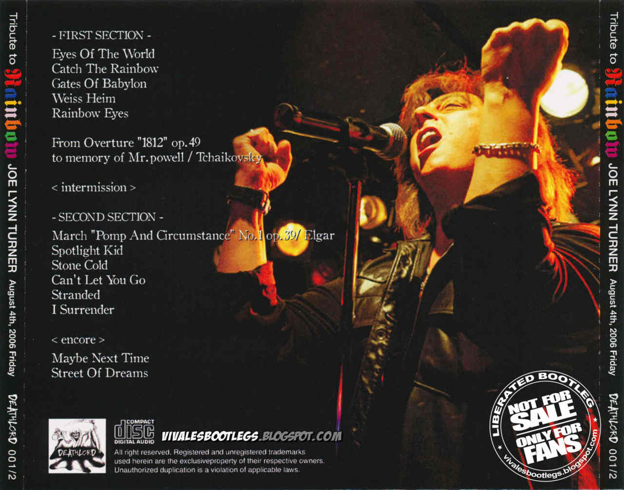 Pat Benatar Tour  Setlist