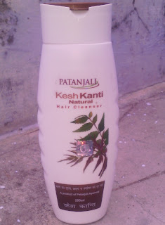 PATANJALI NATURAL SHAMPOO REVIEW