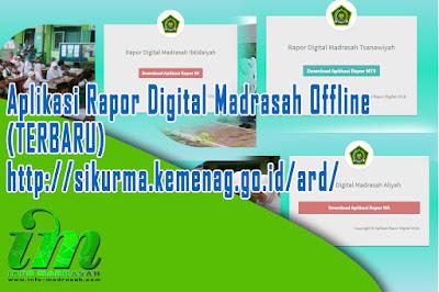 Aplikasi Rapor Digital Madrasah Offline  Aplikasi Rapor Digital Madrasah Offline (TERBARU) http://sikurma.kemenag.go.id/ard/