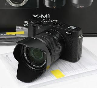 Jual 2nd Mirrorless Fujifilm XM1 - Wifi