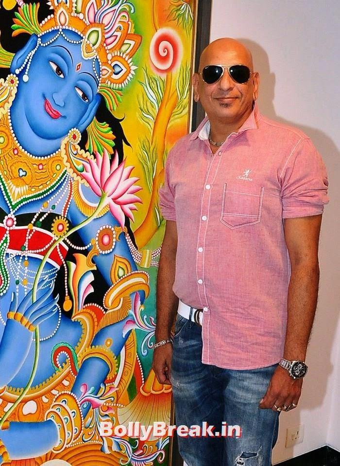Salim Asgarally, Tia Bajpai, Richa Sony Pics from Exhibition