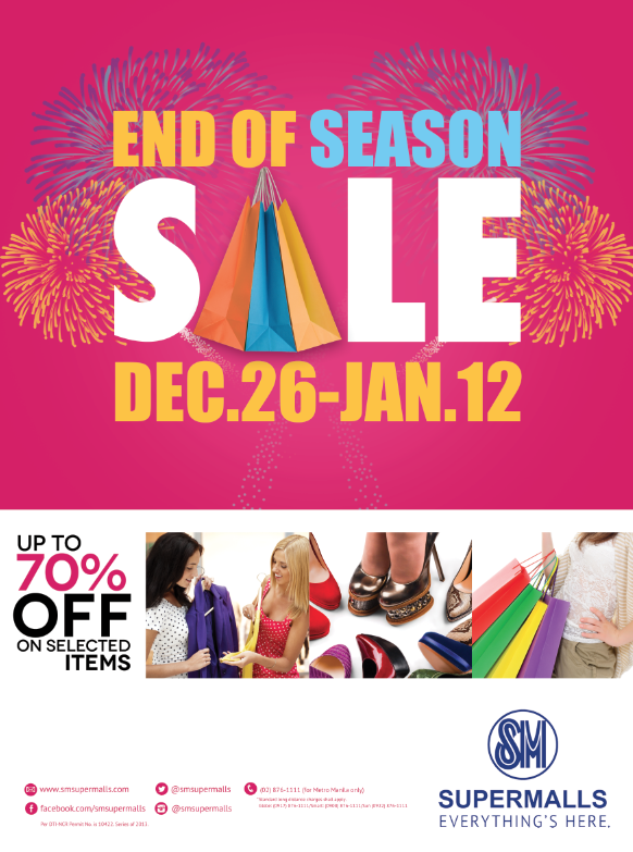 SM Supermalls End of Season Sale