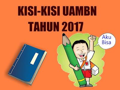 Kisi Kisi Dan Pos Uambn Mts Ma Tahun 2017 Isodonk