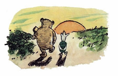 Winnie the Pooh ~ Silly Bear?  Not. :)