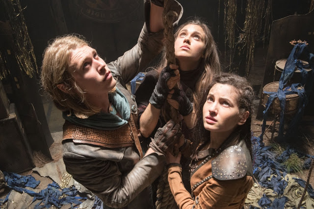 'The Shannara Chronicles,' Season One: Episodes 1-3 (2016). First impression review of the MTV show with Poppy Drayton and Austin Butler. Text © Rissi JC