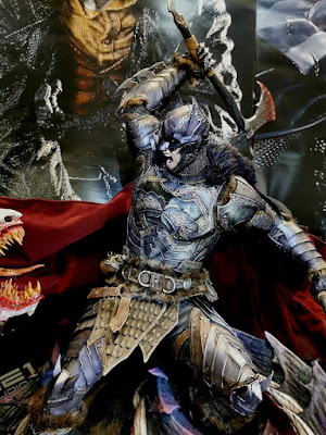 Bat Metal Vs Dragon Joker escala 1/3 - Batman