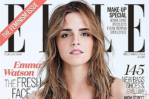 Emma Watson on the cover of the latest issue Elle UK
