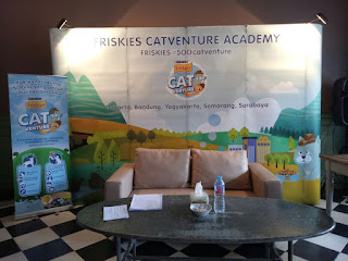 Tampak Muka Acara #500Catventure Friskies Semarang