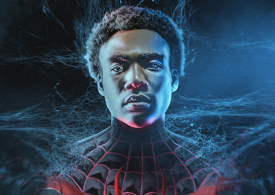 Donald Glover as Miles Morales Spider-Man by BossLogic