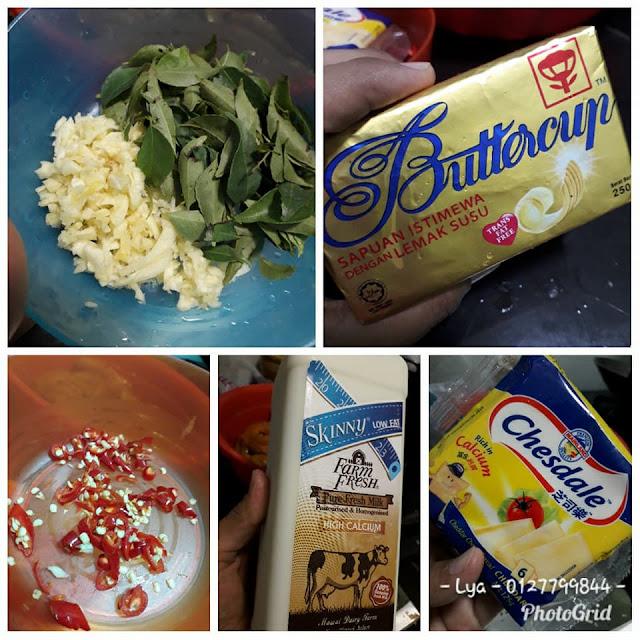 Resepi Udang Butter Cheese Senang | www.resepisenang.com