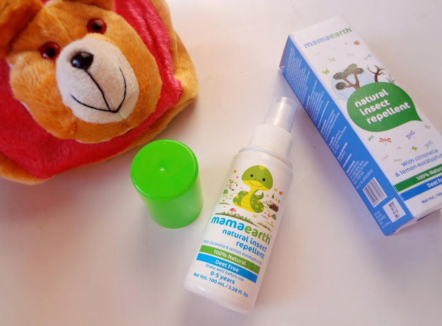 Mama Earth Natural Insects Repellent Spray :