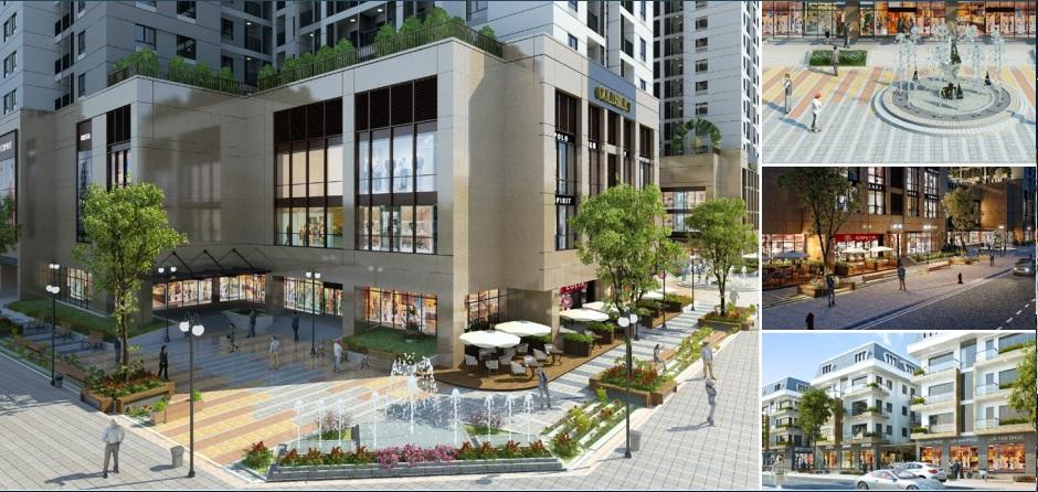 Kiến trúc dự án Goldsilk Complex