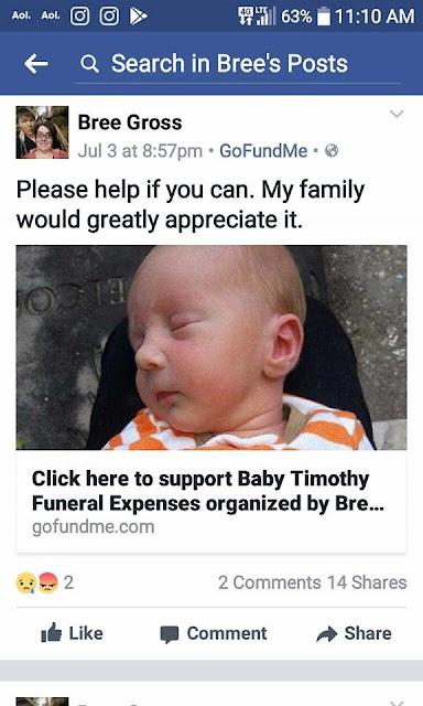 Minta Donasi Untuk Anaknya yang Meninggal, Faktanya Benar-benar Mengerikan