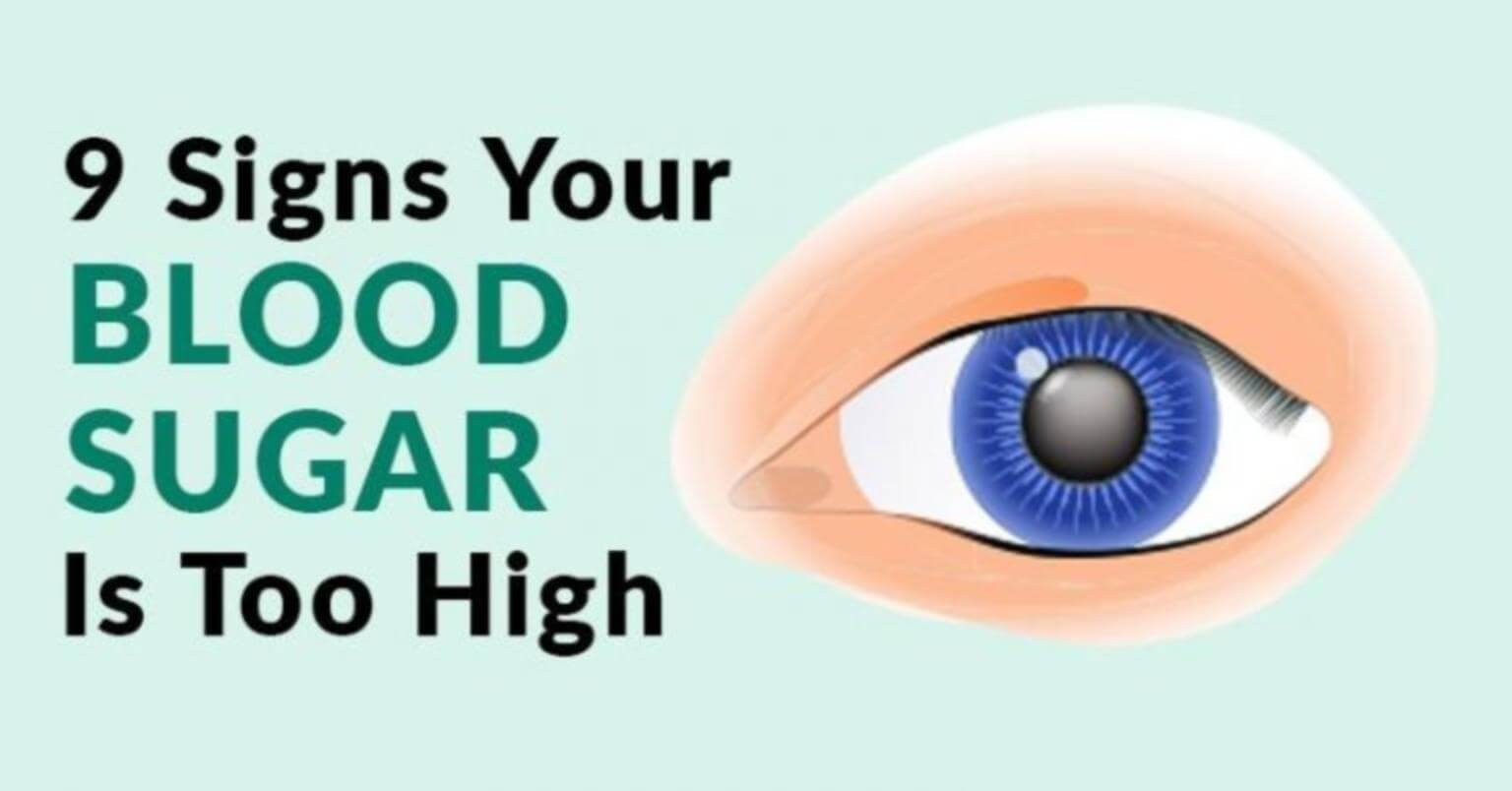 Signs of High Blood Sugar