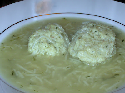 (Finally) Perfect Matzo Balls
