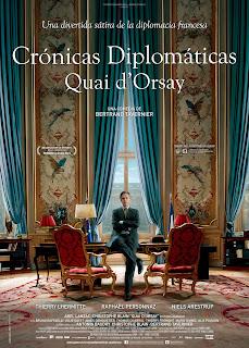 Crónicas diplomáticas = Quai d'Orsay / dirigida por Bertrand Tavernier; guión y diálogos: Antonin Baudry, Christophe Blain y Bertrand Tavernier; fotografía, Jérôme Alméras; música, Philippe Sarde. 2014.