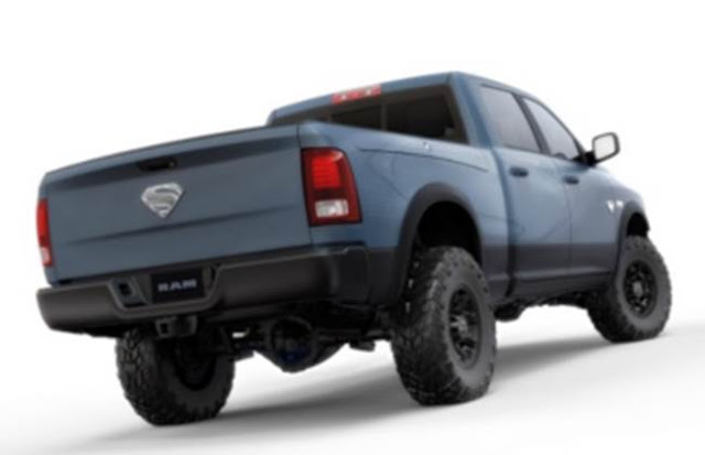 2018 RAM Superman Power Wagon Edition Redesign