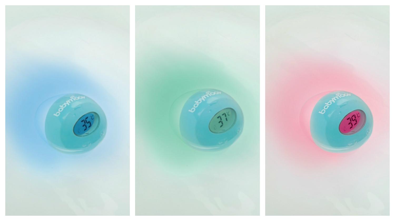 Termómetro inteligente para baño