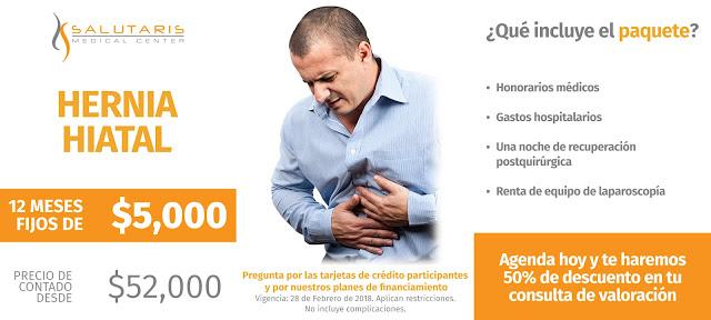 Precio Cirugia Hernia Hiatal Laparoscopia Reflujo Acidez Gastritis Funduplicatura Guadalajara Mexico