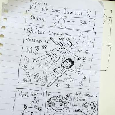 Little Curly eComics - We LOVE Summer!