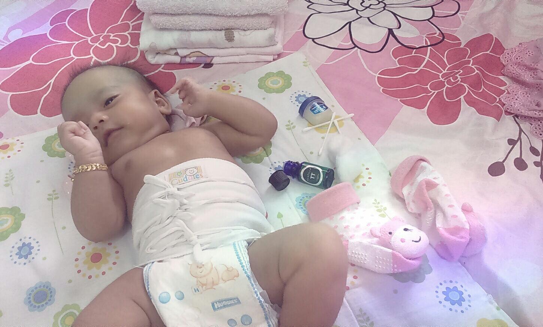 legakan kembung perut bayi