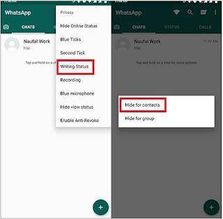 Trik Menyembunyikan Status Sedang Mengetik di WhatsApp