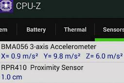 Mengenal Sensor Smartphone Android
