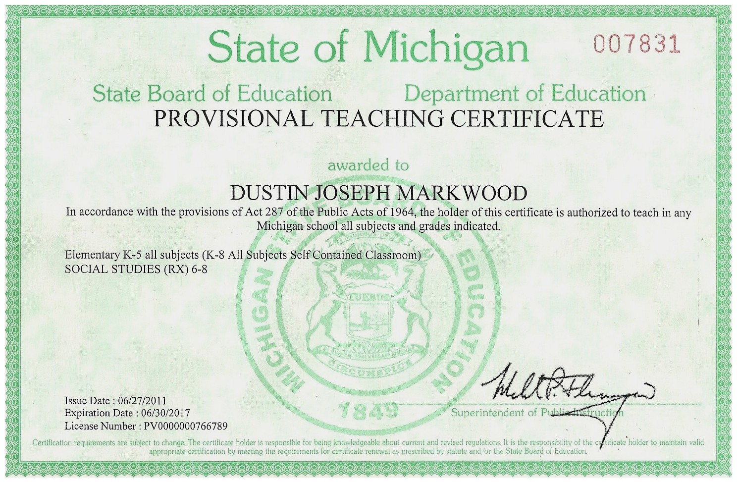Teacher Certification Picsbud