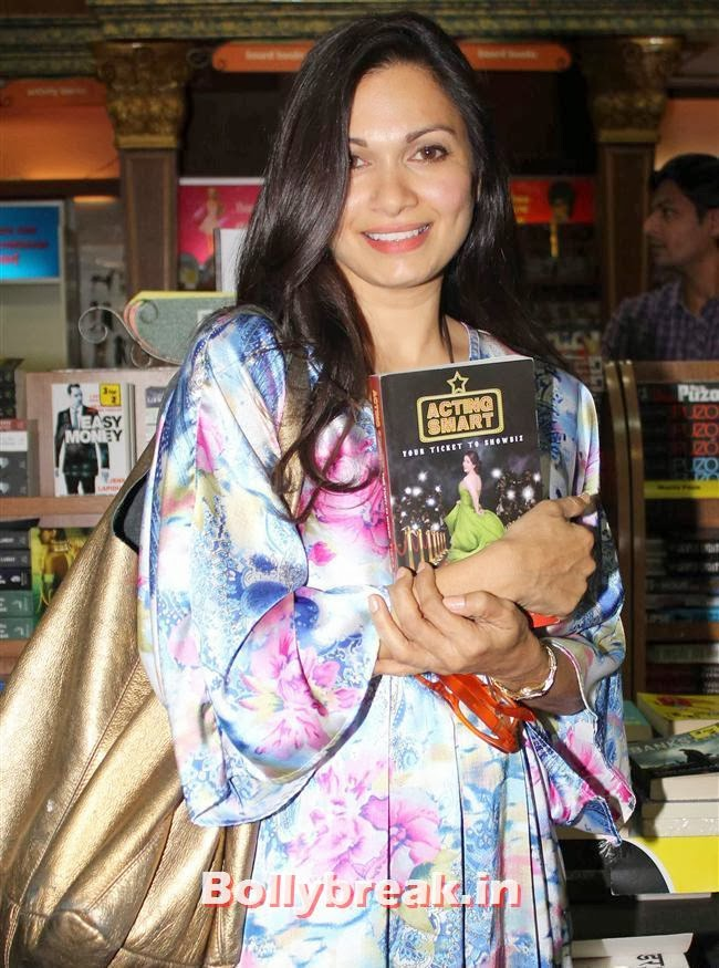 Maria Goretti, Tisca Chopra Launches Her Book 'Acting Smart'