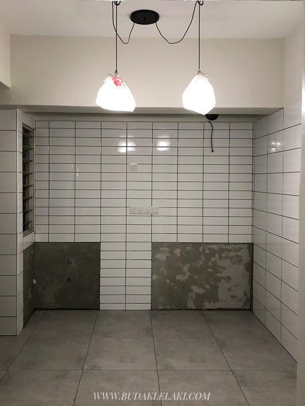 Lepas Kontraktor Siap Dengan Construction Dia Dua Hari Tu Dari Ikea Datang Untuk Pasang Kabinet Dapur