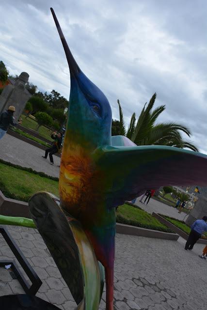 Colibri art Quito
