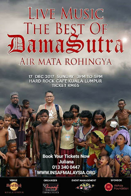 Event Live Music Damasutra Air Mata Rohingya | 17122017